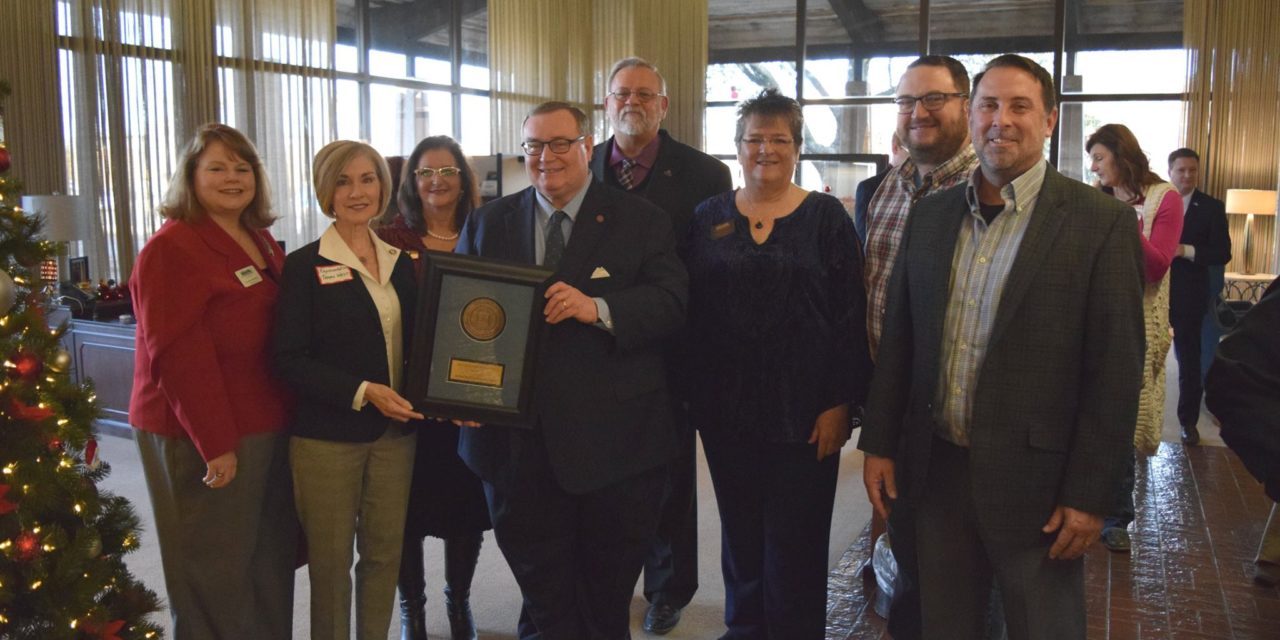 Chamber Community Coffee features state representative presented with prestigious award from state board of regents for higher education