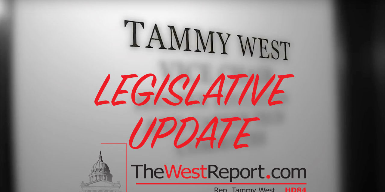 Rep. West Elected as House Republican Caucus Chair