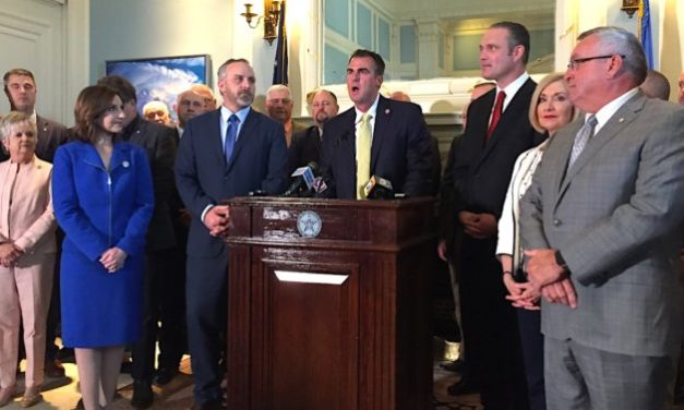 GOVERNOR STITT ANNOUNCES FY 2020 BUDGET DEAL WITH HOUSE AND SENATE LEADERSHIP